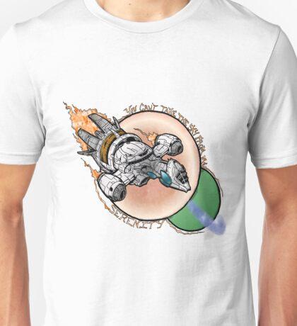 Serenity in Flight Unisex T-Shirt