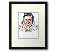 Fonzie - Thumbs up to Happy Days Framed Print
