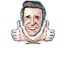 Fonzie - Thumbs up to Happy Days Photographic Print