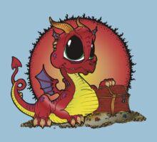 Baby Dragons Treasure Kids Tee