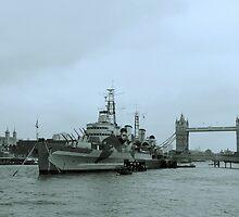 HMS Belfast by Huskyfan