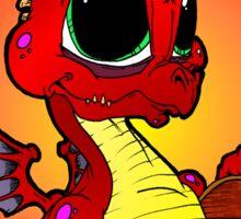 Baby Dragons Treasure Sticker