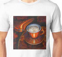Still life with bicycle saddle Unisex T-Shirt