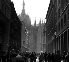 Sun shines in Milano by arylana