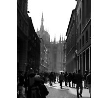 Sun shines in Milano Photographic Print