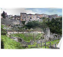 Roman Theatre of Volterra Poster