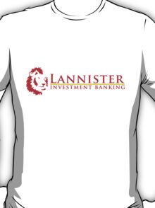 Lannister Investment Banking T-Shirt
