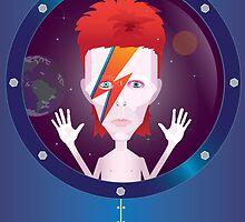 Ziggy Stardust by Mrdoodleillust