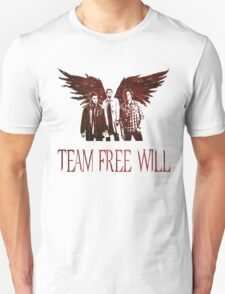 Team Free Will in RED Unisex T-Shirt