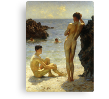 Lovers of the Sun Canvas Print