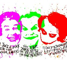 Jokers Romero Nicholson Ledger Quotes watercolor by justin13art