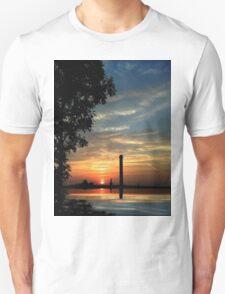 Last moments before sunset Unisex T-Shirt