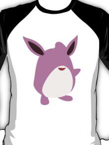 Minimalist Wigglytuff T-Shirt