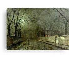 Silver Moonlight, 1880 (oil on canvas) Metal Print