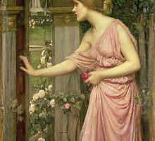 Psyche entering Cupid's Garden by Bridgeman Art Library