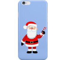 Happy Santa Claus with candy. iPhone Case/Skin
