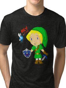 Hey Listen! Tri-blend T-Shirt