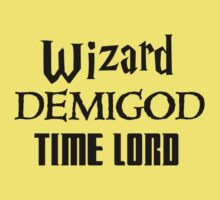 Fandoms: Wizard, Demigod, Time Lord One Piece - Short Sleeve
