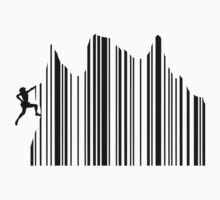 Climbing Barcode by GenerationShirt