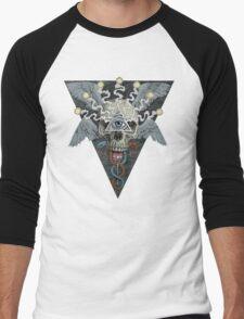ajna awakening - muted Men's Baseball ¾ T-Shirt