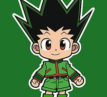 Gon Freecs Chibi by Anuktoy