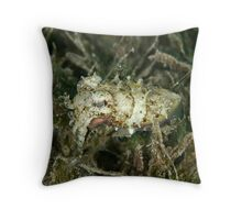 Tiny sepia at night Throw Pillow