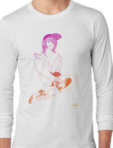 Sneakergirl #1 Long Sleeve T-Shirt