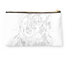 The Good Ship Brighton - Light Outlines Studio Pouch