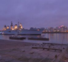 HMS Illustrious by Huskyfan