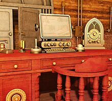 Steampunk Office by Liam Liberty