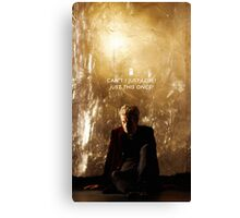 Twelve Doctor Who {CASES, PILLOWS,ETC} Canvas Print