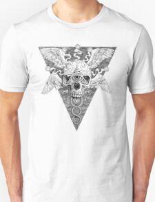 Ajna awakening - lines Unisex T-Shirt