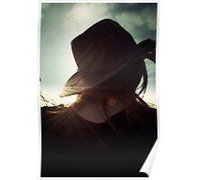 Sundown on a Stetson Poster