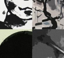 Bauhaus Pop Art Sticker