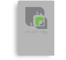 Chuckie Egg Canvas Print