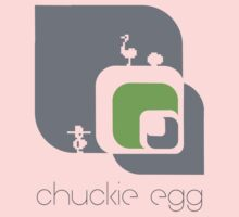 Chuckie Egg One Piece - Short Sleeve