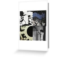 Bauhaus Pop Art Greeting Card