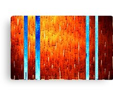 Rusted stars Canvas Print
