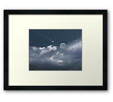 Celestial Night Framed Print