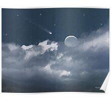 Celestial Night Poster