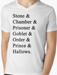 Potter Mens V-Neck T-Shirt