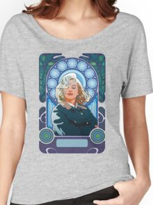 Marilyn Monroe in Mucha Women's Relaxed Fit T-Shirt