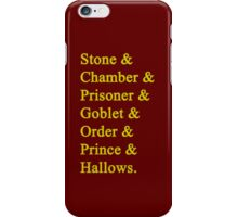 Gryffindor Potter iPhone Case/Skin