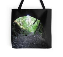 The End Of The Tunnel by Elisabeth and Barry King™ Tote Bag