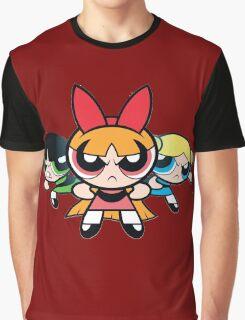 Powerpuff Girls - Angry Graphic T-Shirt