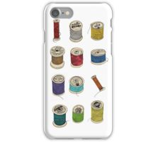 Cotton Reels iPhone Case/Skin