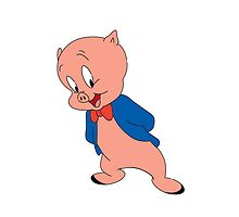 Porky Pig by Mytholxgy