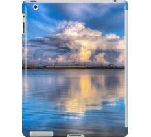 Crosby marina HDR storm clouds iPad Case/Skin