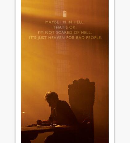 Twelve Doctor Who (2) {CASES, ETC} Sticker