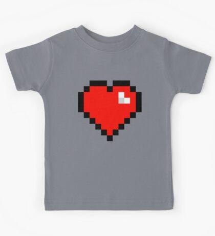 8-Bit Heart Kids Tee